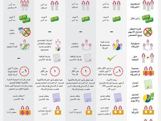 اشكال الشركات في السوق السعودي