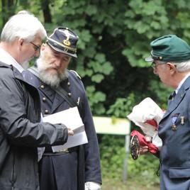 CIVIL WAR VETERAN GEORGE DENHAM USN and USA REMEMBERED