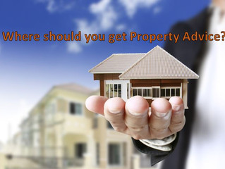 Where should you get your advice about property?
