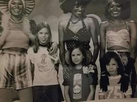 With Carol Burnetts Kids circa early 197
