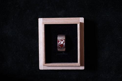杢目金指輪<mokumegane-ring>
