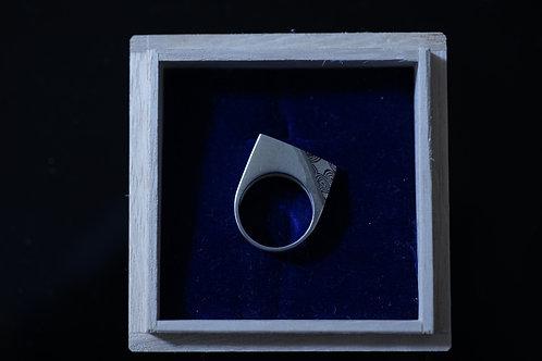 杢目金指輪印台