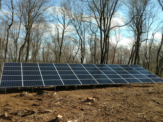 15 kW Ground Array in Lancaster, PA