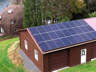 8kW Array Powers Unique Home