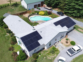 4th of July Energy Independence! 11.2 kW E-Town Home Goes Solar