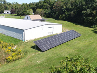 Dogs Going Solar! 22 kW Ground Array