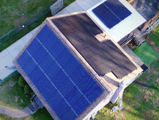 Small House, Big Solar! 14.3kW Array near Philadelphia