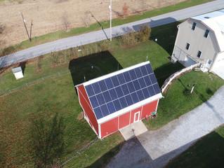 Modern 10 kW Solar Transforms York Farm