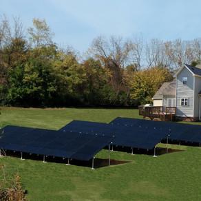 23.7KW DC Black Solar Array in York County. Personal powerplant.