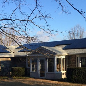 8.7 KW Black Solar Array - Pottstown, PA