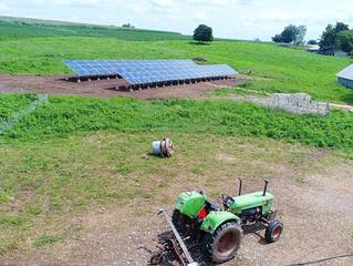 34 kW Organic Solar Farm - Lancaster