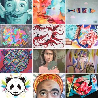 El artista extremeño Misterpiro gana el Premio Street Art & Food Festival 2017 del Mercado de Sa