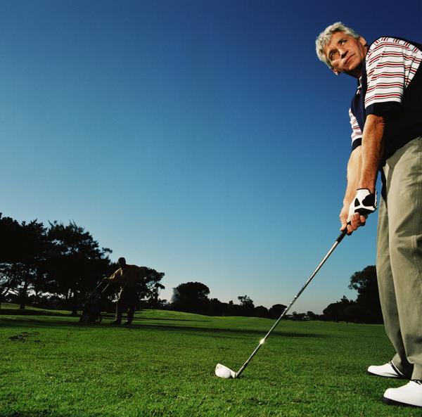 Senior Golfer