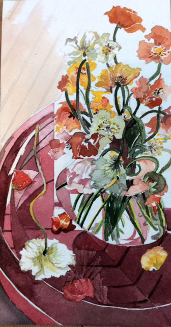 Bouquet de pavots