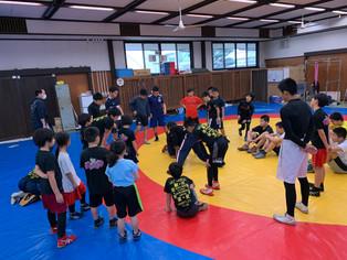 【ジュニア合同練習会】タイガーキッズ、宇城アロー、三井ラビットで合同練習会とぜんざい会を実施