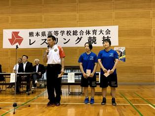 【熊本県高校総体】写真集・アジアカデット激励会