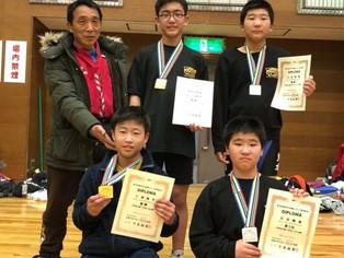 【全国少年少女選抜大会】タイガーキッズが3階級制覇(H30.02.25)
