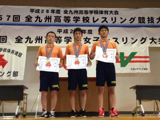 【全九州高校総体】荒木(55kg)がV3達成。桜井(50kg)・井上(女子46kg)が優勝