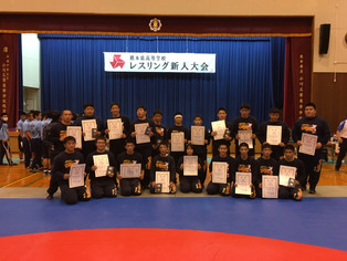 【県高校新人戦】玉名工が団体28年連続Vを達成、個人戦は8階級中7階級でV