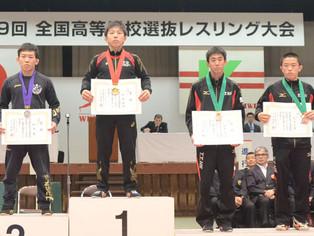 【全国高校選抜大会】玉名工業は団体ベスト8、個人50kg級で荒木・桜井が3位入賞
