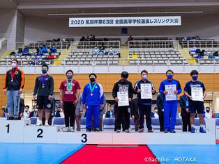 2020年風間杯全国高校選抜大会・個人戦 フリー80kg 大槻慶太(玉名工)が3位入賞
