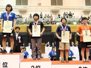 【南九州総体】個人対抗戦で地元 北稜高校3名(大野、吉川、山田)が3位に入賞。男子は入賞なし