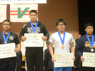 【JOC】カデットの部・青木謙汰(玉名工)が110kgで3位に入賞