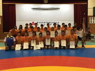 【熊本県高校総体】団体は26年連続で玉名工業高校が優勝し広島インターハイへ