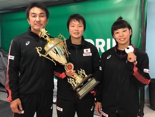 【アジア・カデット選手権】大野真子(北稜高2年)が昨年の世界カデットに続いて海外2勝目(カザフスタン/アスタナ)