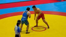2021年風間杯全国高校選抜大会・125kg 竹田 廉(小川工)が堂々の準優勝