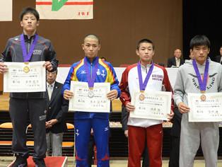 【JOC】吉永信太郎(玉工)がカデット/グレコ63kg級で準優勝