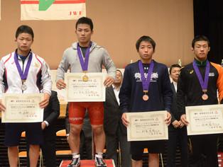 【平成29年 JOC】カデット・グレコ63kg級で吉永(玉名工)が優勝し世界大会へ