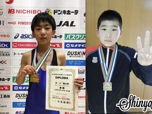 【小学生全国選抜】石田(大野小4年)、井上(木葉小5年)が優勝
