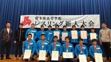 令和2年度 熊本県高等学校レスリング新人大会 玉名工V30を阻止し、小川工業が初優勝・個人戦は6階級で小川工が優勝