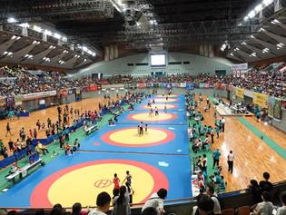 【全国少年少女レスリング選手権】209クラブ1244選手がエントリーして全国少年少女選手権が開幕