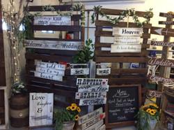Backdrop & Signs