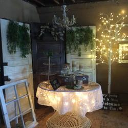 Cake Table & Backdrop