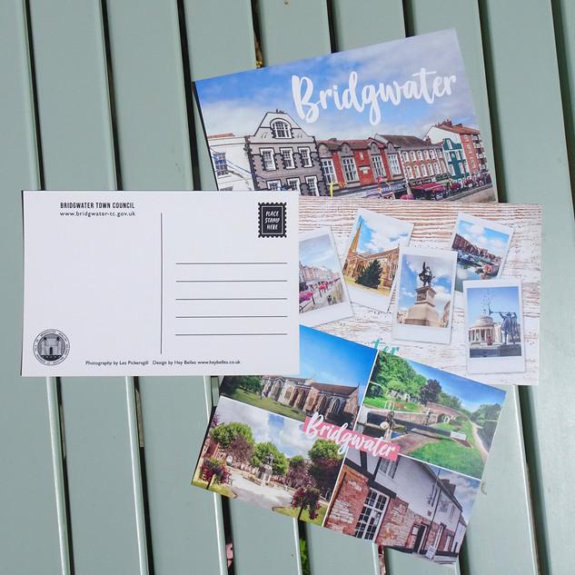 Bridgwater Town Postcards