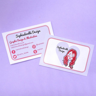 Sophiedoodle Design Logo & Business Card