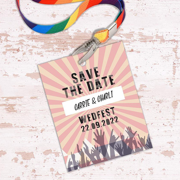 Wedfest Festival Save The Date