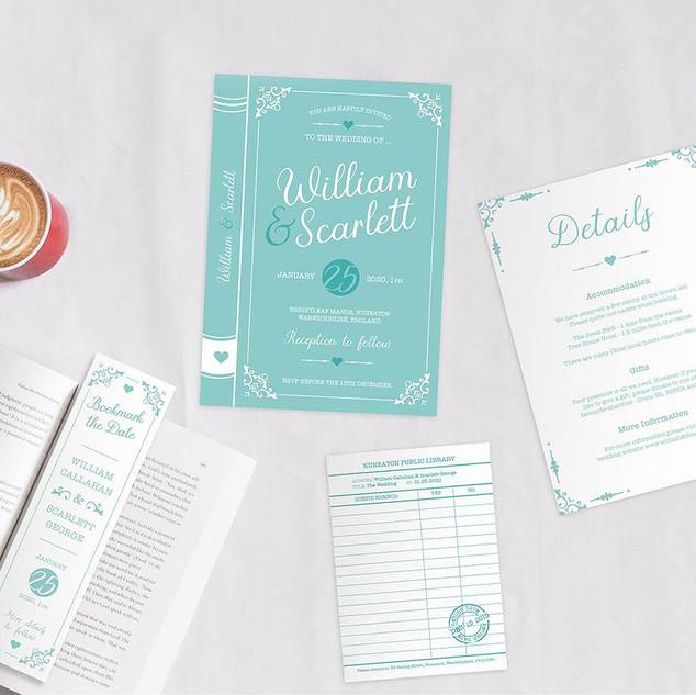 Book Invite Set