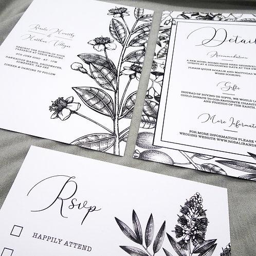 Foliage Wedding Set