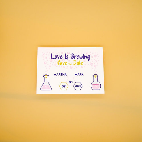 Chemistry Save the Date