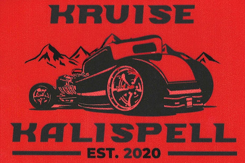 KRUISE KALISPELL STICKERS - RED, WHITE, BLUE