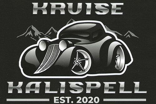 KRUISE KALISPELL STICKER - BLACK