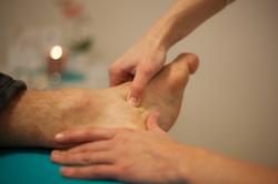 Fußreflexzonenbehandlung