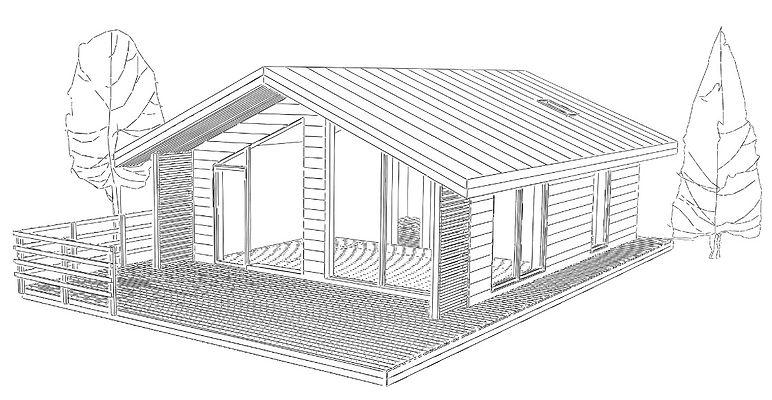 Архитекура. Современный загородный дом