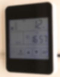 Пуль управления приточно-вытяжной вентиляцией
