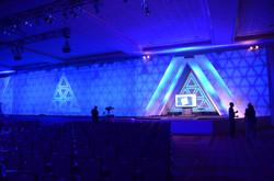Stage and lighting