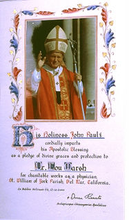 Certificate - His Holiness Pope Paul.jpg